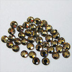 EK Success - Jolee's Jewels - Crystallized Swarovski Elements Collection - Flat Back Hotfix Jewels - 3 mm - Light Colorado Topaz