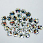 EK Success - Jolee's Jewels - Crystallized Swarovski Elements Collection - Flat Back Hotfix Jewels - 4 mm - Crystal