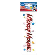 EK Success - Disney - 3 Dimensional Title Stickers - Mickey Mouse