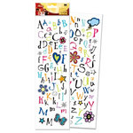 EK Success - Disney - 3 Dimensional Alphabet Stickers - High School Musical