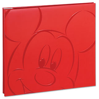 EK Success - Mickey Album - 8 x 8 - Red