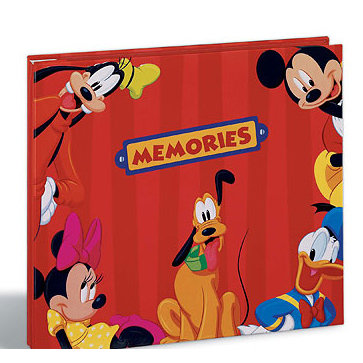 EK Success - Disney - 8x8 Album - Mickey and Friends Memories, CLEARANCE