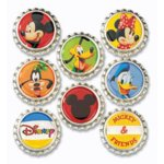 EK Success Disney Collection Bottle Caps - Mickey