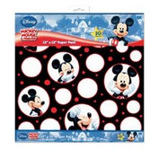 EK Success - Disney Collection - 12x12 Paper Pack - Mickey Mouse Black, White and Red