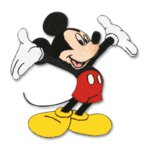 EK Success Disney Collection Embroidered Stickers - Mickey