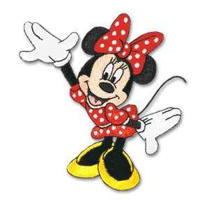 EK Success Disney Collection Embroidered Stickers - Minnie