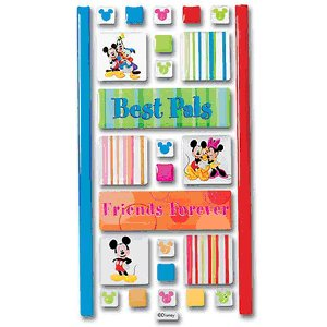Disney Adhesive Tiles - Best Pals