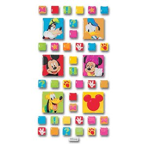 Disney Adhesive Tiles - Mickey and Friends