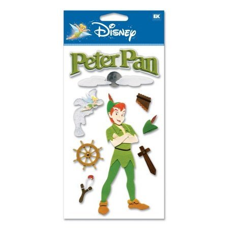 EK Success Disney - 3D Stickers - Peter Pan
