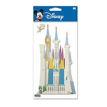 EK Success - Disney - 3 Dimensional Stickers - Castle