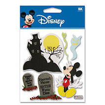 EK Success - Disney - 3 Dimensional Stickers - Haunted House Mickey