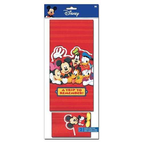 EK Success - Disney Collection - Stickers - Ticket and Brochure Holder