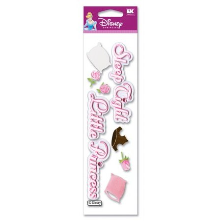 EK Success Disney - 3D Stickers - Sleeping Beauty - Sleep Tight
