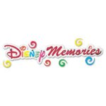 EK Success Disney Collection Title Stickers - Disney Memories