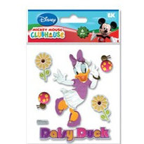 EK Success - Disney Collection - Mickey Mouse Clubhouse - 3 Dimensional Stickers - Daisy Duck, CLEARANCE