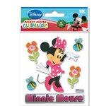 EK Success - Disney Collection - Mickey Mouse Clubhouse - 3 Dimensional Stickers - Minnie Mouse, CLEARANCE