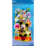 EK Success - Disney - Mickey Mouse Collection - Chipboard Pieces - Mickey Friends