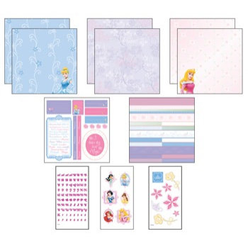 EK Success - Disney - 12x12 Page Kit - Princess