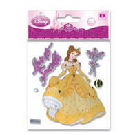 EK Success - Disney Princess Collection - 3 Dimensional Stickers - Belle, CLEARANCE