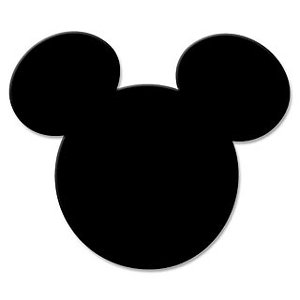 Disney Collection Paper Shapers - Whale of a Punch - Mickey Icon