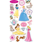 EK Success - Disney Collection - 3 Dimensional Puffy Stickers - Princess Sweet as Sugar