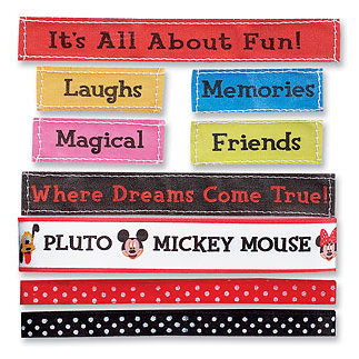 EK Success - Mickey Ribbon Set