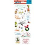EK Success Dr. Seuss - Stickers - The Grinch Phrases, CLEARANCE