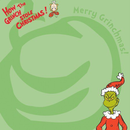 EK Success Dr. Seuss Patterned Paper - Merry Grinchmas, CLEARANCE