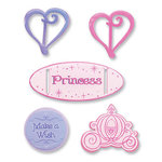 EK Success - Ribbon Sliders- Princess, CLEARANCE