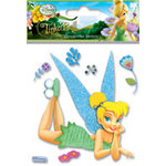 EK Success - Disney Fairies Collection - 3 Dimensional Stickers - Tinkerbell Daydreaming