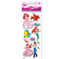 EK Success - Disney Princess Collection - 3 Dimensional Stickers - Little Mermaid