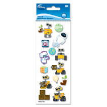 EK Success - Disney - 3 Dimensional Stickers - Wall-E, CLEARANCE