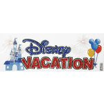 EK Success - Disney Collection - 3 Dimensional Stickers - Disney Vacation Title