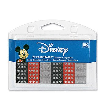 EK Success - Disney - Fastenater Decorative Staple Bars - Mickey Heads