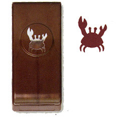 EK Success - Paper Shapers - Actopus to Zelephant Collection - Medium Punch - Crab