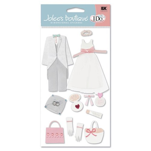 EK Success - I Do Collection - Jolee's Boutique - Flower Girl and Ring Boy, CLEARANCE