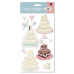 EK Success - I Do Collection - Jolee's Boutique - Wedding Cake, CLEARANCE