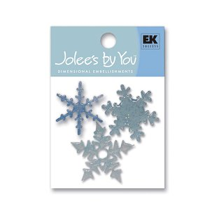 EK Success - Jolee's By You - Glitter Snowflake