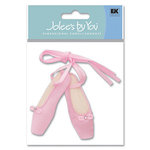 EK Success - Jolee's By You - 3D Embellishment Stickers - Ballet Slippers