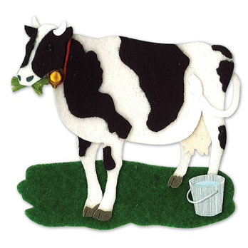 EK Success - Jolee's By You - Dimensional Stickers - Cow