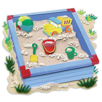 EK Success - Jolee's By You - Dimensional Stickers - Sand Box