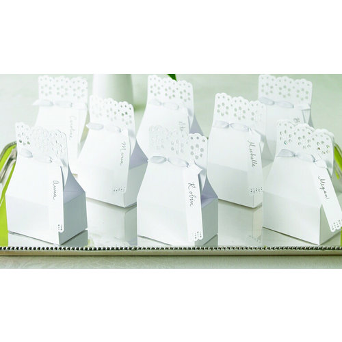 Martha Stewart Crafts - Eyelet Favor Box Kit, BRAND NEW