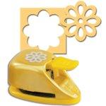EK Success - Paper Shapers - Double Punch - Double Sunflower