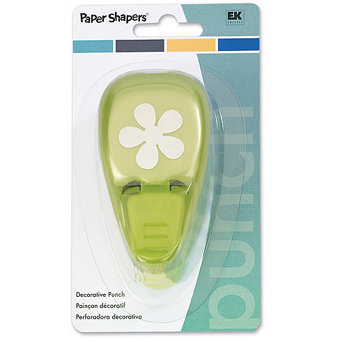 EK Success - Paper Shapers - Decorative Punch - Retro Flower