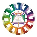 Rainbow Color Selector Wheel - Studio Size, CLEARANCE