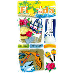 EK Success - Jolee's Boutique - 3 Dimensional Stickers - Florida