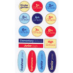 EK Success - Sticko Semi Layered Stickers - School Grades