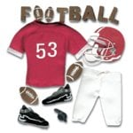 Jolee's Boutique - Sports and Leisure Collection - Football