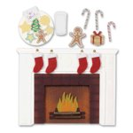 Jolee's Boutique Stickers - Waiting for Santa