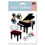 EK Success - Jolee's Boutique Stickers - Piano Recital